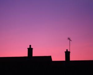Pink Sky Wall