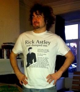 Rick Astley Tshirt