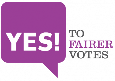 Yes to Fairer Votes!