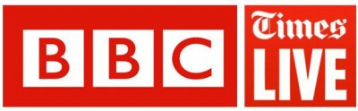 BBC &amp; Times live logos