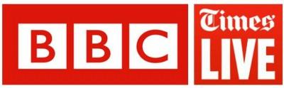 BBC & Times live logos