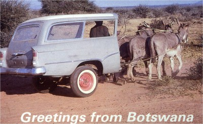 Greeting from Botswana
