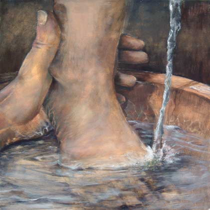 gospel of john foot washing According to the gospel,  (john 13:1-17) the point jesus was  the foot washing ceremony is an important call for all people that they too should be willing to.