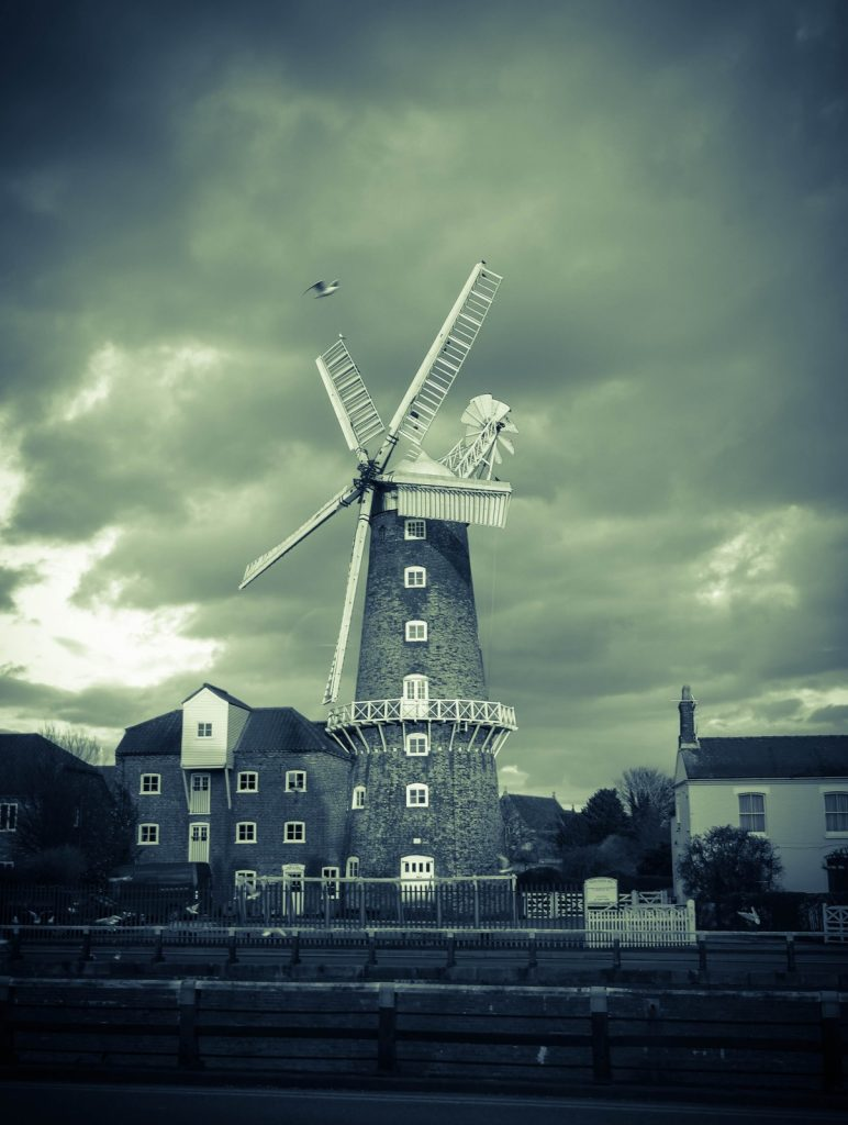 Windmill in Boston