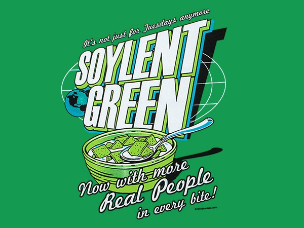 Blog all about chris lowry for Soylent green