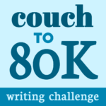 Couch to 80K Writing Challenge in text